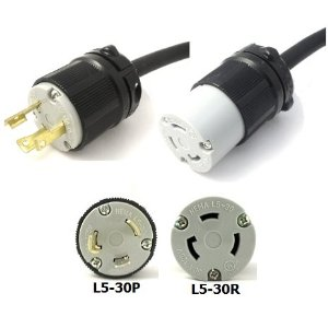 i have the power common electrical connectors the networking nerd rh networkingnerd net Generator Plug L5-30 Plug Back