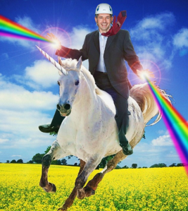 Ivan rides his steed into battle